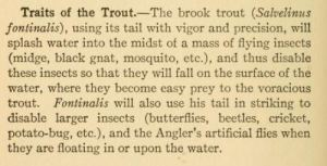Trout traits, p. 110