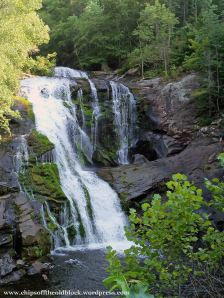 Bald River Falls, Tellico Plains, TN (see tiny people mid-right)