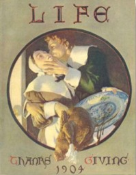 Life magazine cover, 1904