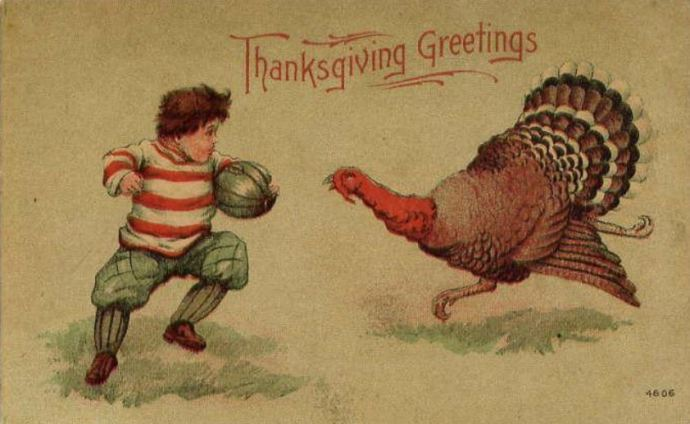 Thanksgiving postcard circa 1900 (Credit: Wikipedia)