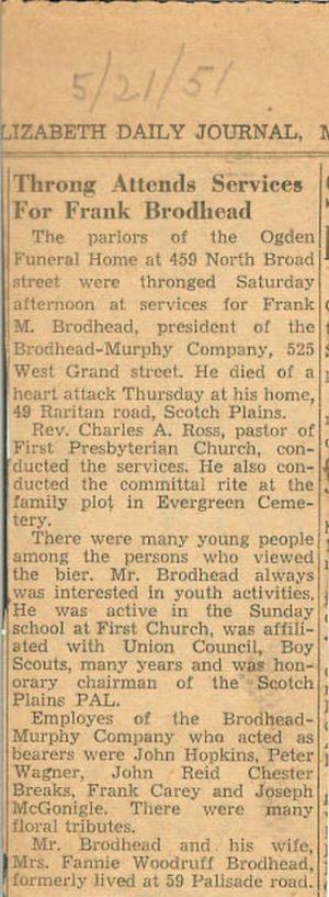 21 May 1951, Elizabeth Daily Journal