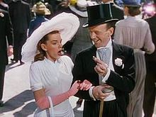 Judy Garland as Hannah Brown and Fred Astaire as Don Hewes in the finale of the 1948 musical Easter Parade