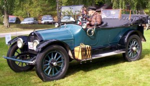 Overland Model 82 Touring 1915 |Source: Wikimedia: contributed by author Lglswe on 2008-08-09