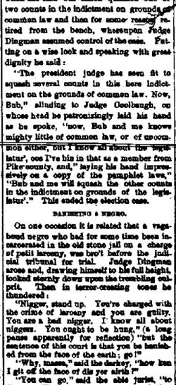 Adams NY, Jefferson County Journal, 20 Nov 1888 - part 1 (Credit: fultonhistory.com)