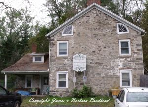 Judge Daniel W. Dingman's stone house (Credit: James and Barbara Brodhead)