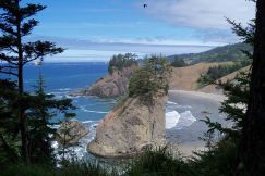 Near Brookings, Oregon