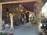 The 'It's a Burl' store and workshop in Kerby, Oregon