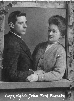Louise & G. Welles VanCampen, 1908 copy