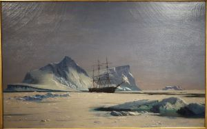 Scene in the Arctic by William Bradford, cir. 1880, De Young Museum, San Francisco (Wikimedia Commons-Public domain in US)