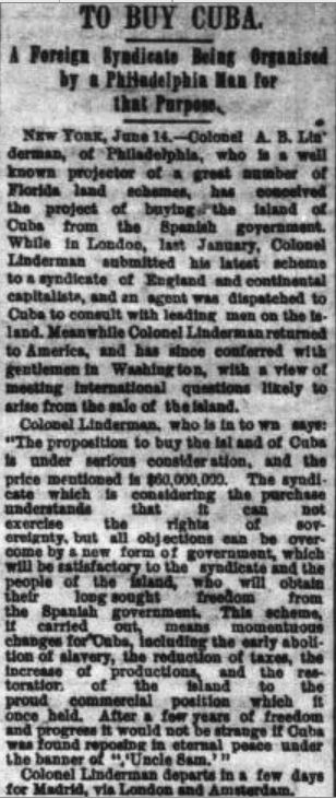 The Indianapolis News, June 14, 1884 (http://indiamond6.ulib.iupui.edu/cdm/ref/collection/IN/id/21167)