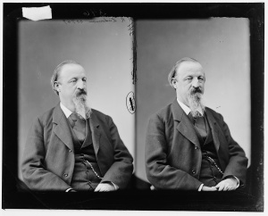 H.R. Linderman, sometime between 1865-1880. Library of Congress image - No known restrictions on publication