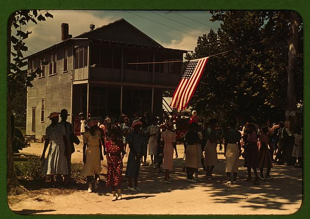 A Fourth of July celebration, St. Helena Island, S.C. Photographer Marion Post Wolcott; 1939; Library of Congress - No known restrictions on publication