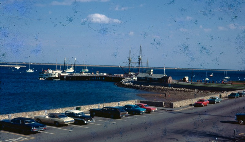 View of Plymouth Harbor fall or spring of 1973
