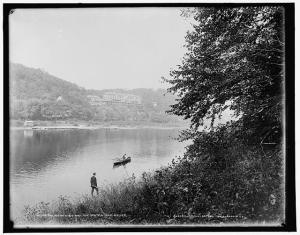 The Kittatiny House and the Water Gap House - Library of Congress Prints and Photographs Division