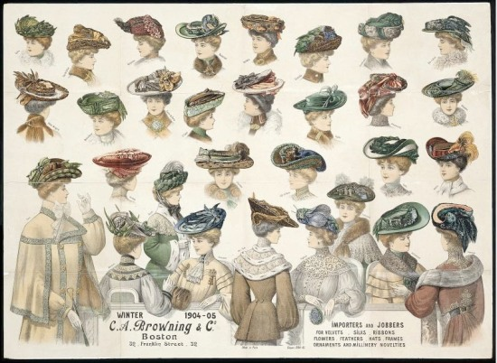 {{Information |Description=Advertisting poster for hats for C.A. Browning & Co., Boston. French, 1904–05. France. Lithograph, printed in color, on paper. Anonymous firm. Poster advertising hats for C. A. Browning and Co., 32 Franklin Street Boston. (In public domain is US due to being published before