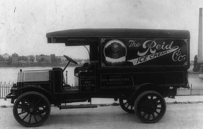 Chips off the old block a blog devoted to genealogical reid ice cream co truck probably in washington dc 1918 photograph retrieved from the library of congress httpslocitem2001706376 fandeluxe Image collections