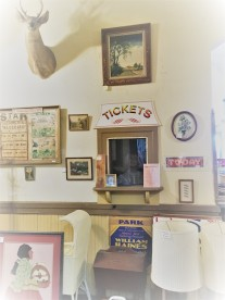 Old ticket booth at Opera House