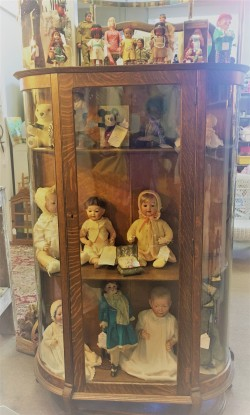 Loads of old dolls everywhere